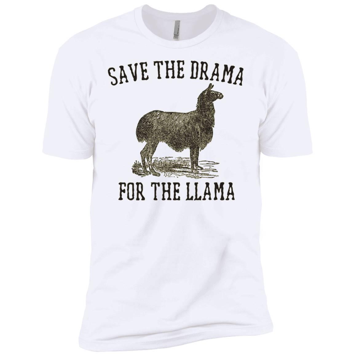 Fun Llama T-shirt – Save The Drama For The Llama T-shirt – T-Shirt