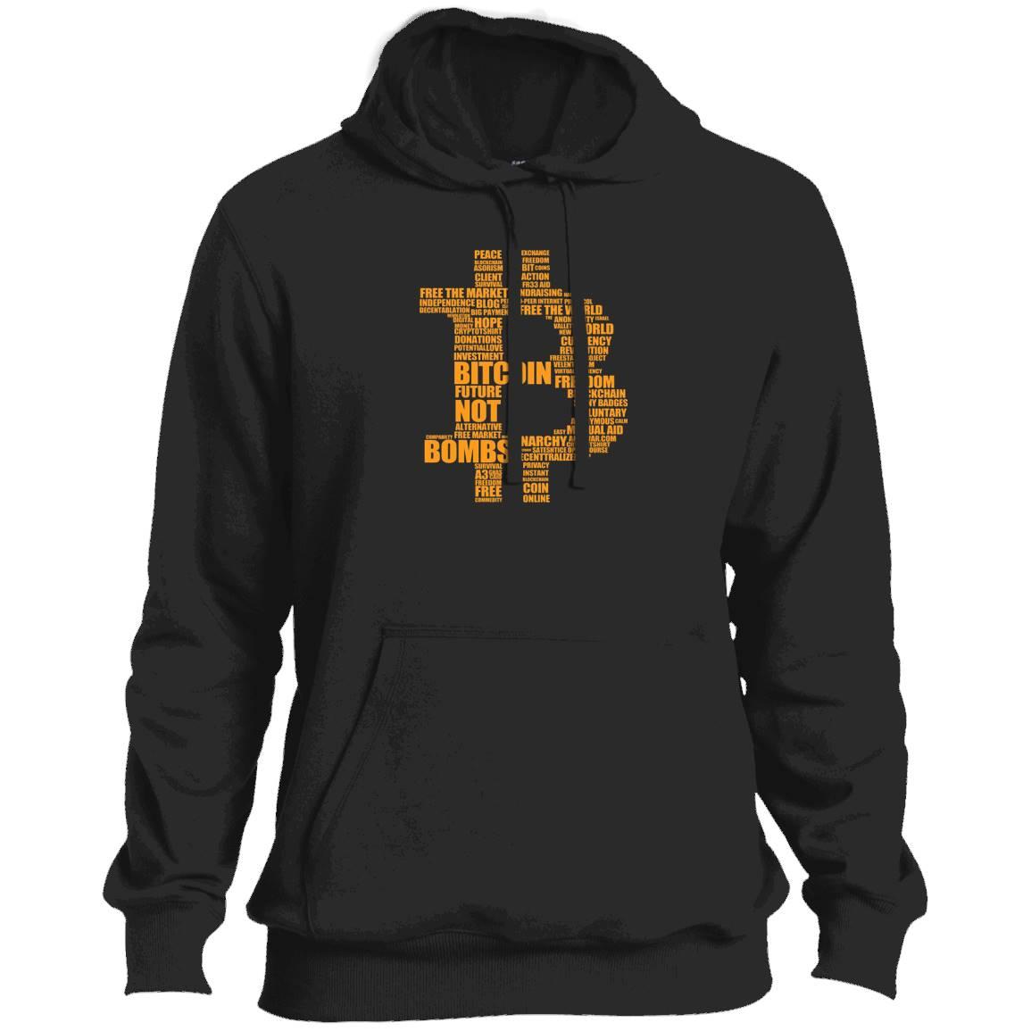 Bitcoin logo Tshirt – Hoodie