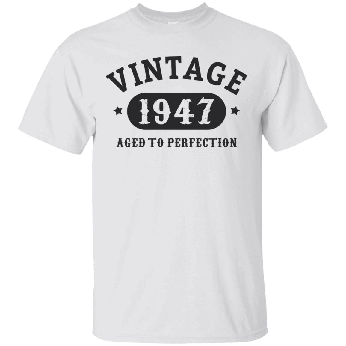 70 years old 70th Birthday B-day Gift 1947 T-Shirt