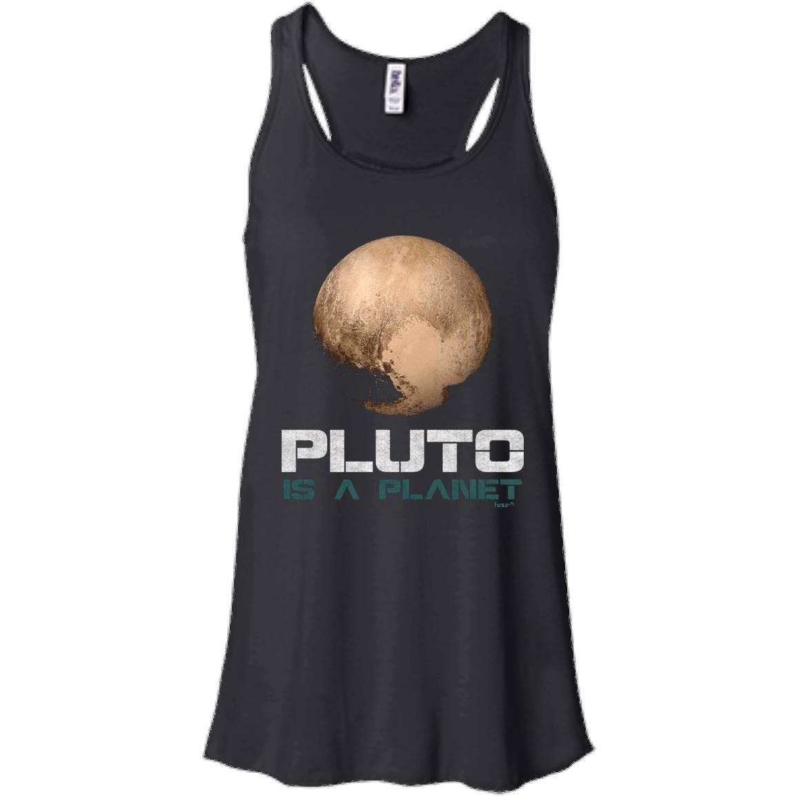 Occupy Mars T-shirt Pluto is a Planet Shirt – Women Tank