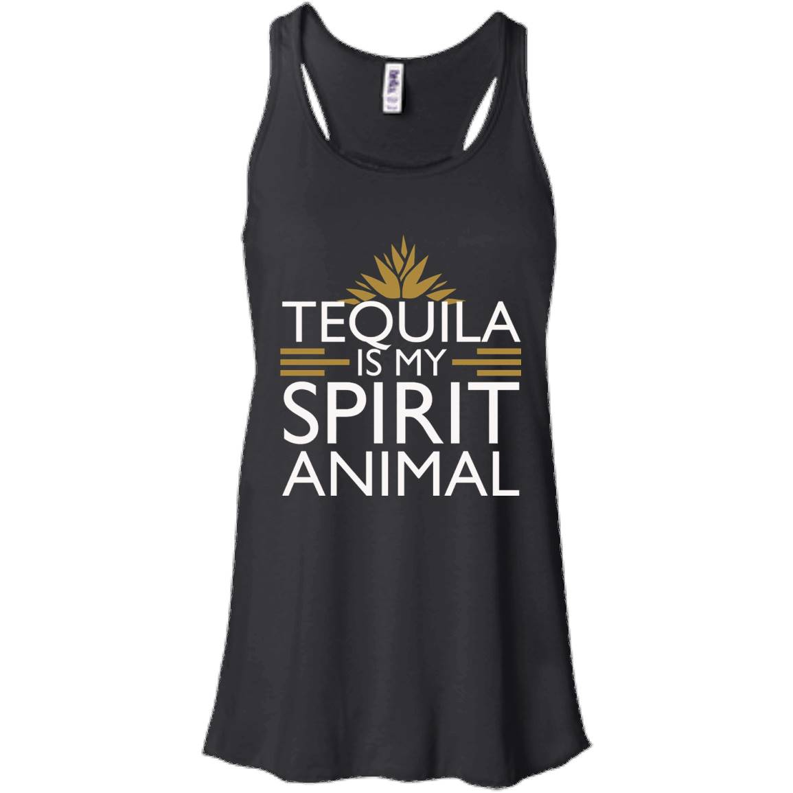 Tequila is my Spirit Animal (Beer Shirt, Alcohol T Shirt) – Women Tank