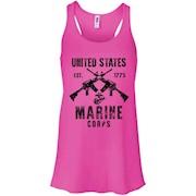 USMC Rifle Marine Corps Vintage T-Shirt – Women Tank
