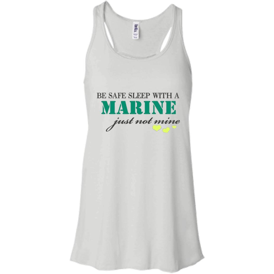 Marine TShirt Be Safe Sleep With A Marine Shirt – Women Tank