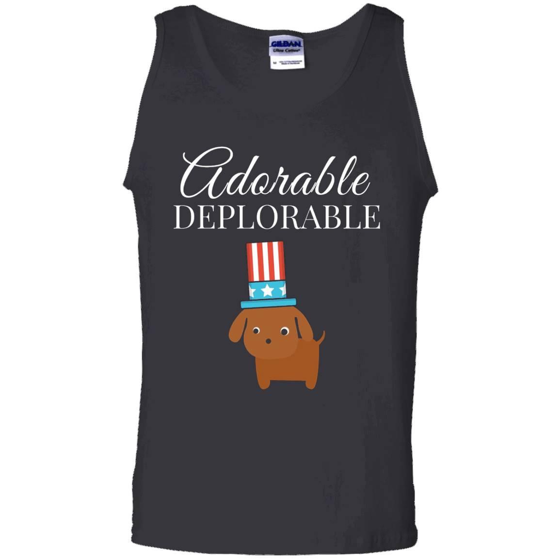 Adorable Deplorable Cute Puppy Dog Shirt – Tank Top