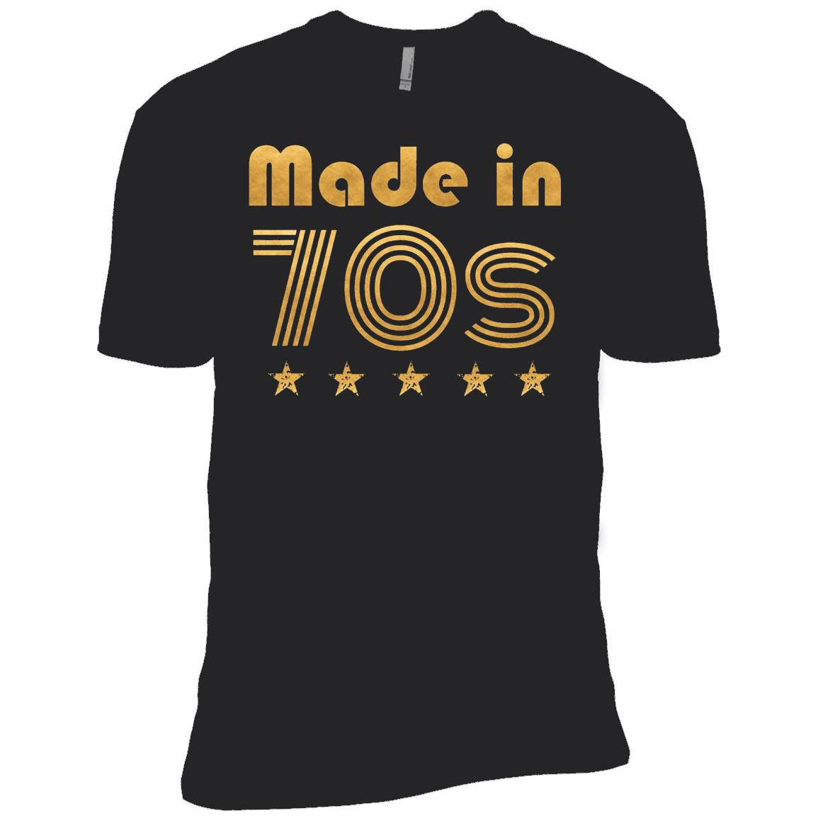 1970's Style Disco Made in the 70s Birthday Gift T-Shirt