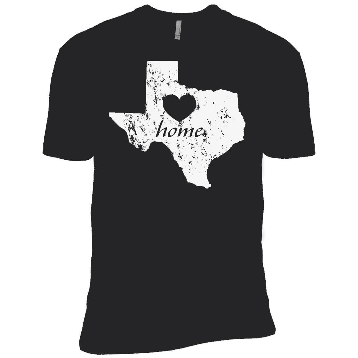 I Love Texas Home TShirt Texas Gifts (Men, Women, Youth) – T-Shirt
