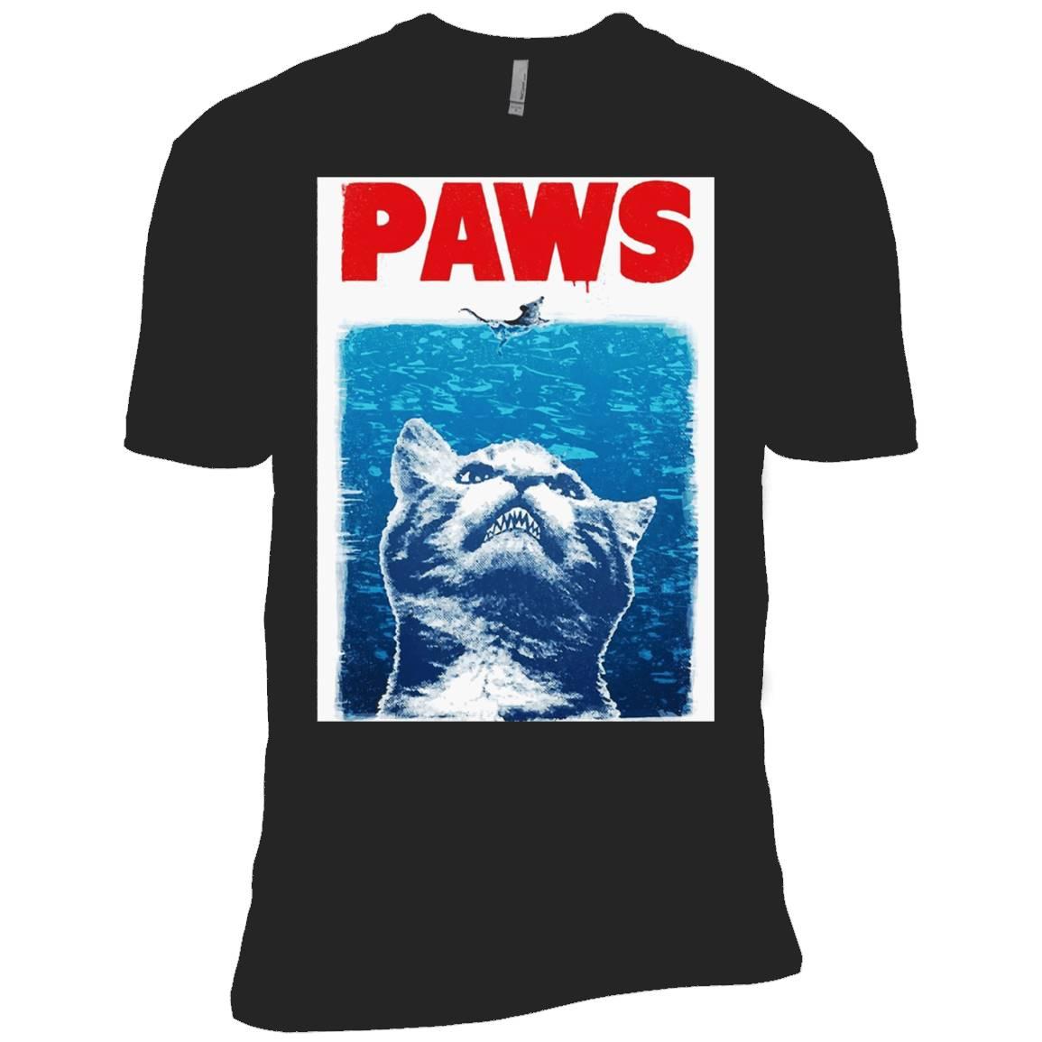 Paws Cat Kitten Meow Parody – Cat And Mouse Shirt – T-Shirt