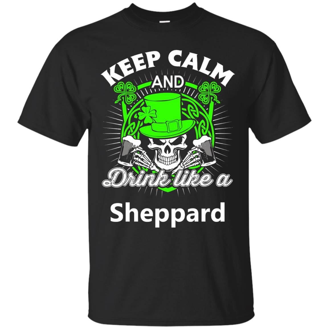 Keep calm and drink like a Sheppard