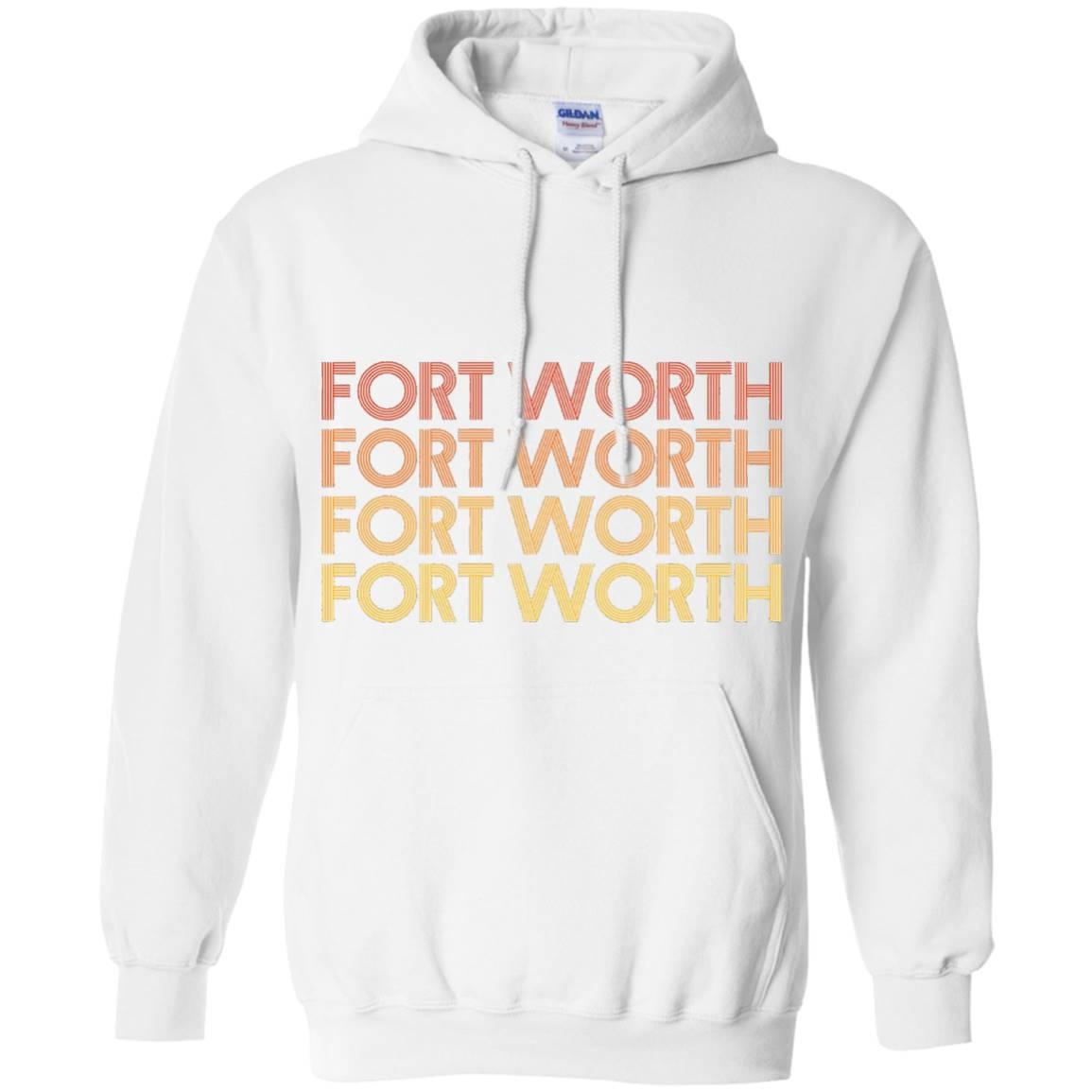 Fort Worth, Texas – Retro Vintage T Shirt