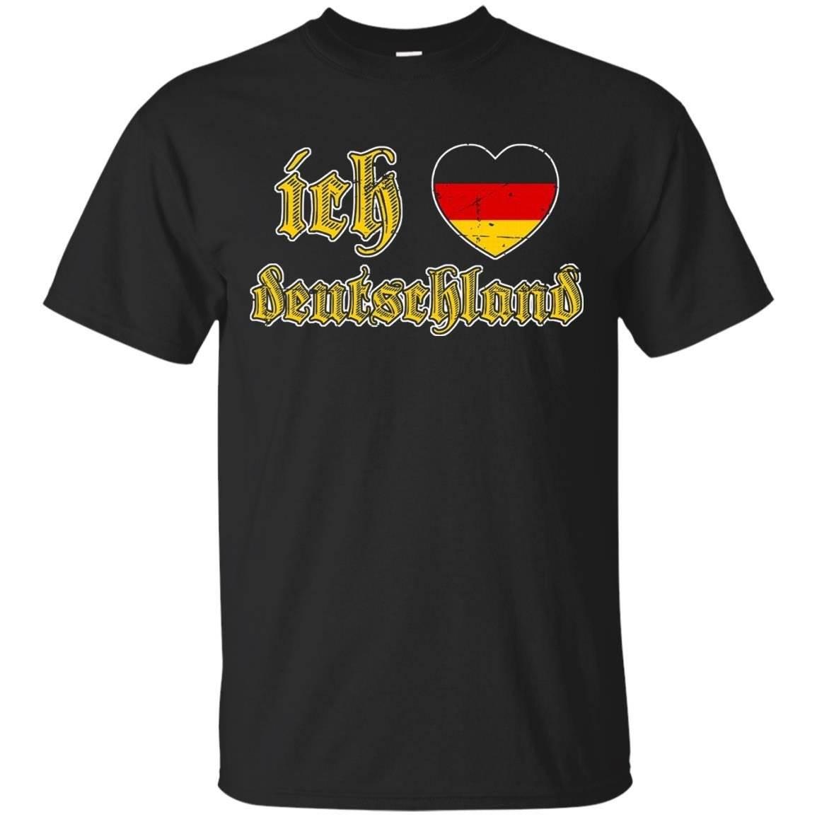 Oktoberfest I Love Germany Ich Liebe Deutschland T Shirt