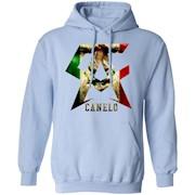 Canelo alvarez mexican flag – El Canelo club t-shirt