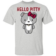 i love pitbulls T-shirt hello pitty T-Shirt