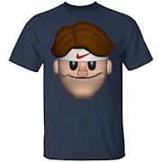 Sport Roger Federer Emoji T-shirt