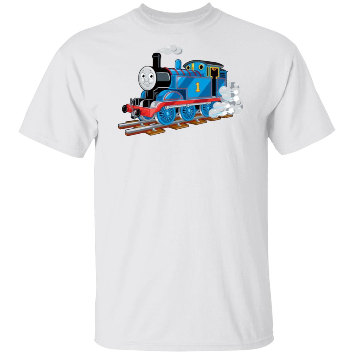 Thomas The Friends Train T Shirt – Funny Tank Engine T-Shirt