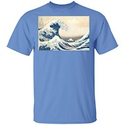 The Great Wave off Kanagawa – Japanese Tsunami Great Wave – T-Shirt