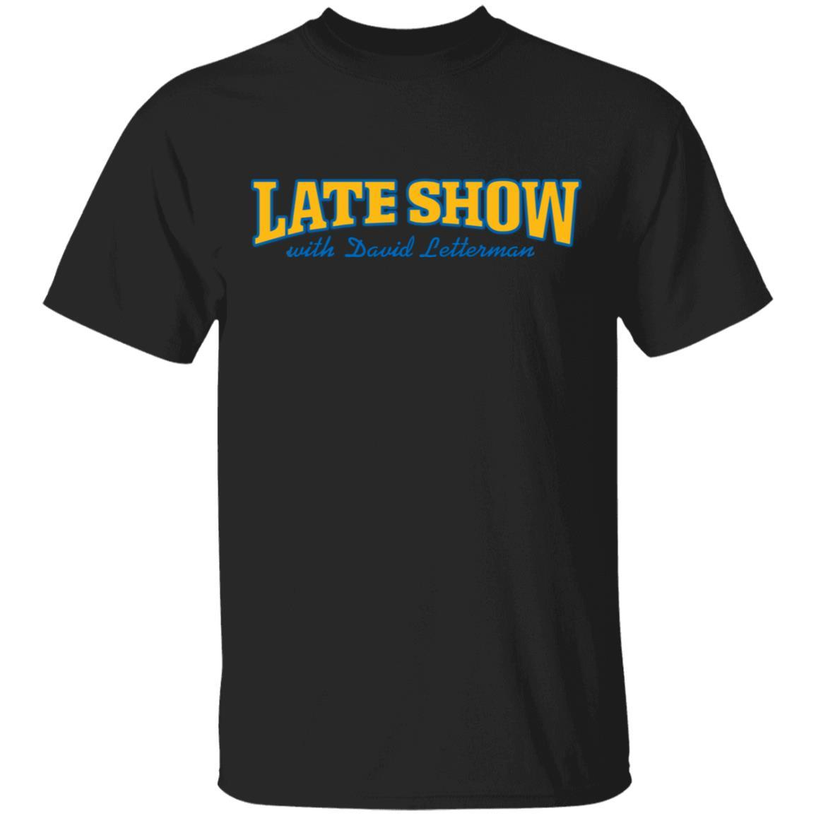Late Show With David Letterman Tee Shirt
